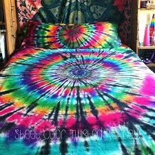 tie dye bedding tie dye sheet set cotton 1 fitted sheet by tie dye bedding sets tie dye bedding