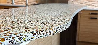 recycled glass countertops in michigan