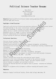 Computer Science Instructor Resume Sales Computer Science