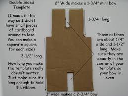 making the template pinwheel hair bow template