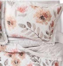 floral pillow shams. Brilliant Pillow TWO THRESHOLD Watercolor PILLOW SHAMS STANDARD Floral NEW TARGET Inside Pillow Shams