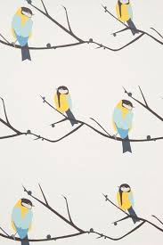Juneberry Bird   Kids Wallpapers   Kids Bedroom Ideas   Childrenu0027s Room  Decorating (houseandgarden.co.uk)