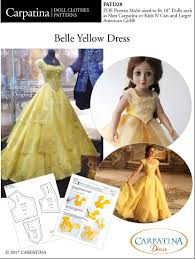 Belle Dress Pattern Unique Design