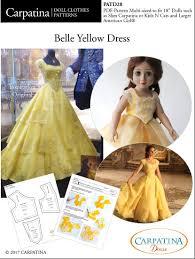 Belle Dress Pattern Unique Design