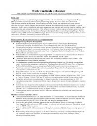 Successful Objectives In Chemical Engineering Resume Objective For