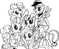 Free Printable Coloring Pages For My Little Pony L L L L L L