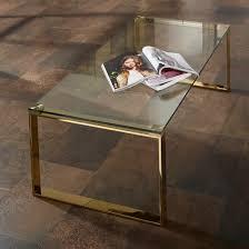 joyce coffee table rectangular in clear