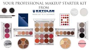 50 off your professional makeup starter kit with kryolan makeup you