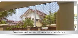 bamboo blinds manufacturer malaysia wooden blinds supplier selangor outdoor blinds supply kuala lumpur kl all blinds centre