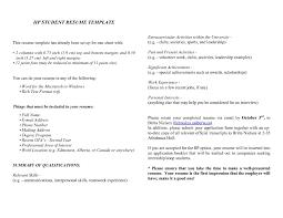 Sample Resume For Canada Resume Online Builder