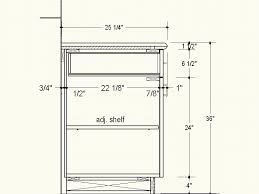 Kitchen Cabinet Depth #2791