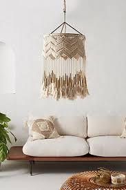 pendant and chandelier lighting. Lana Macrame Pendant And Chandelier Lighting N