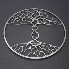 >dna tree of life 3d metal wall art 36 w x 36 h x 0 25 d arte and  dna tree of life 3d metal wall art 36 w x 36 h