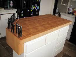 image of hard maple cutting board countertop