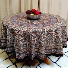 52 inch round tablecloth round cotton tablecloth mandala fl paisley block print cotton tablecloth rectangular inch 52 inch round tablecloth