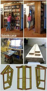 50 DIY Shelves - Build Your own Shelves. Hidden Bookshelf DoorBookshelf ...