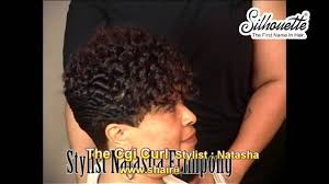 Chi Hair Style Hair Instructional Videothe Chi Curl African American Woman 3107 by wearticles.com