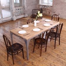 Industrial Style Contemporary Dining Table By Cosywood Kitchen