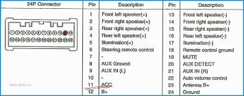 hyundai radio wiring wiring diagram fascinating