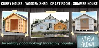 home home wooden cubby shed sdz australia