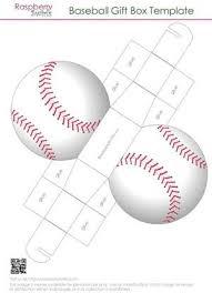 Gift Box Template Free Stunning Printable Baseball Gift Box Baseball Pinterest Box Gift Box
