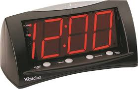 westclox 66705 large display alarm clock