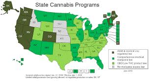 Map - Marijuana States World Maps