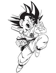 Enter youe email address to recevie coloring pages in your email daily! Dragon Ball Z Coloring Pages Free Printable Coloring Pages