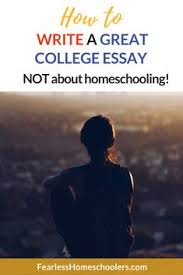 standard essay format standard essay format essays homeschool  how to write a great college essay not about homeschooling