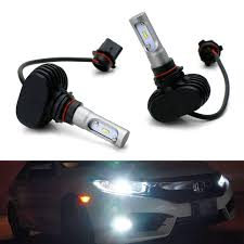 Acura Rsx Fog Light Bulb Size Amazon Com Ijdmtoy P13w 12277 Led Headlight Bulbs 50w