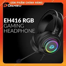Tai Nghe Gaming DAREU EH416 RGB - Hàng chính hãng Mai Hoàng phân phối