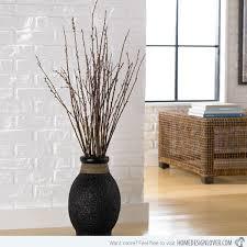 Lovely Ideas Decorative Vases For Living Room Surprising Floor Captivating Floor  Vases For Home Wicker Vase Tall