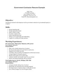 Resume General Contractor Resume