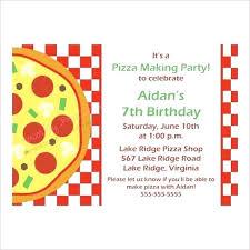 Pizza Party Invitation Templates Idea Pizza Party Invitation Template Word And Templates Creative A
