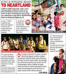 What you can and cannot do during the national lockdown. Telangana Hungry Broke And 800 Km Away From Home Hyderabad News Times Of India