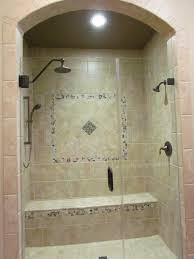 Walk In Tile Shower Walk In Shower Dal Tile Cv 11 Laid In Brick Pattern With 2x2