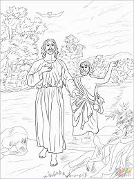Childrens Ministry Coloring Pages Pretty 46 Jesus Being Baptized