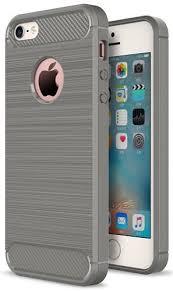 <b>Чехол EVA для</b> iPhone 5/5S/5C, серый/карбон (IP8A012G-5 ...