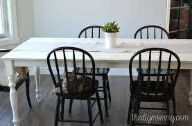 exquisite design chalk paint kitchen table a shabby chic farmhouse and chairs painting a kitchen table