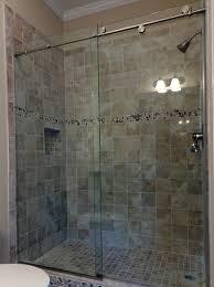 bypass shower door. Elegant Frameless Bypass Shower Door Sliding Glass Doors Home Design Ideas O