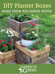 diy planter boxes are so fun to make and these simple instructions will have you planting