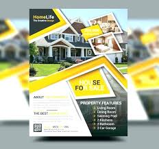 Free House For Sale Flyer Templates Professional Real Estate