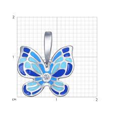 Яркий <b>кулон</b> с <b>бабочкой SOKOLOV</b> – купить в официальном ...
