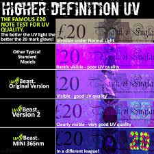 Professional Grade Black Light High Power 100 Led With 30 Feet Flood Effect Uvbeast Black