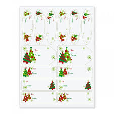 Christmas Tree Labels Graphic Christmas Tree Labels