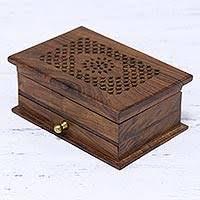 wood jewelry box fl dignity handmade fl jali acacia wood jewelry box