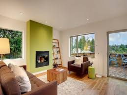 Painted Living Rooms Living Room Accent Tan Accent Wall Brown Accent Wall Living Room
