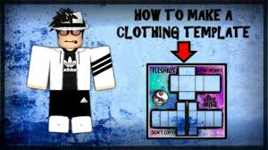How Do You Make Your Own Clothes On Roblox Roblox How To Make Your Own Clothing Template Youtube