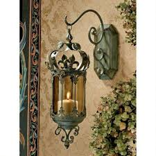 huis meval gothic wall sconce candle