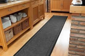 fancy long kitchen rugs with kitchen rug runners any length available dirt stopper grey runner
